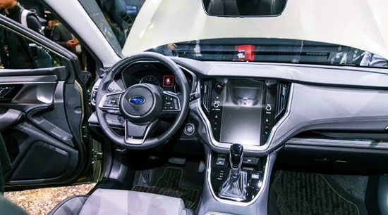 2021 Subaru Outback Limited XT Interior