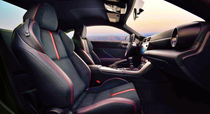 2023 Subaru BRZ Interior