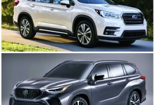 2021 Subaru Ascent vs. 2021 Toyota Highlander