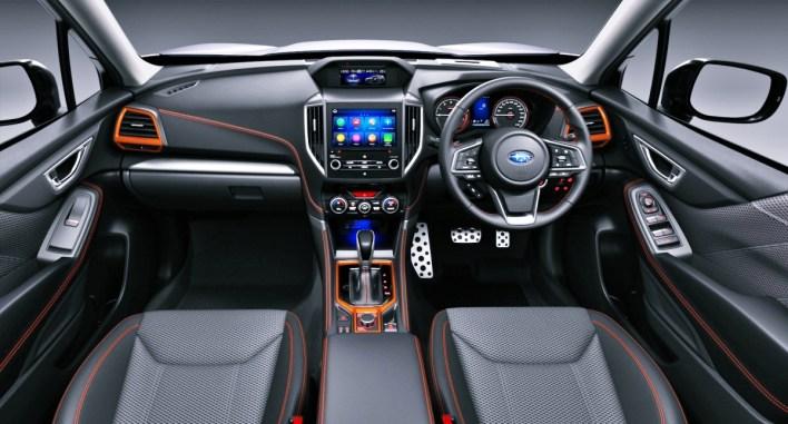 2021 Subaru Forester 2.5i Sport Interior