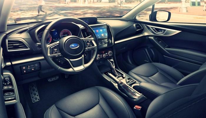 2022 Subaru Impreza Interior