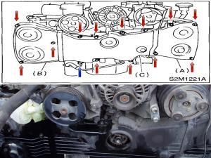 Timing Belt and Water Pump Replacement Subaru WRXSTi  Page 2 of 7  Subaru Idiots