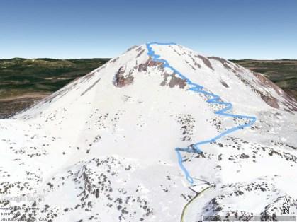 Lassen Peak GEarth