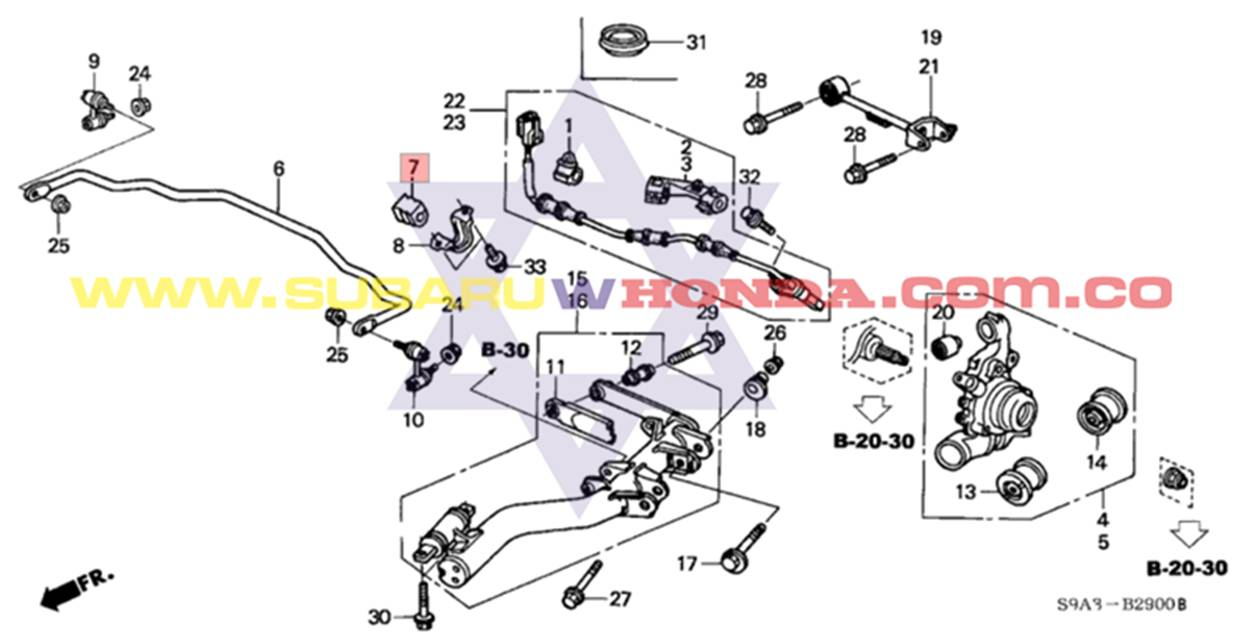Honda Cr V Wiring Diagram File Name 1997 Honda Crv Wiring