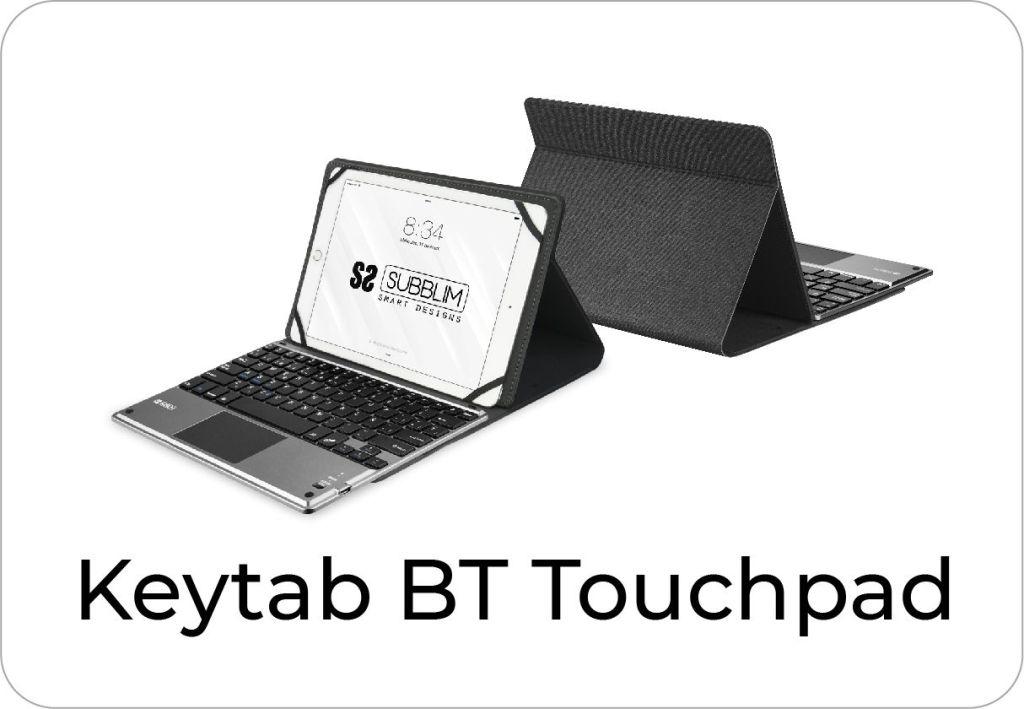 botón keytab Bluetooth touchpad