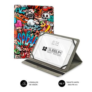 Tablet case Trendy Graffiti