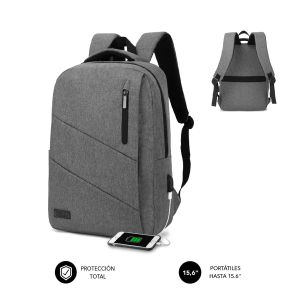 Mochila City grey