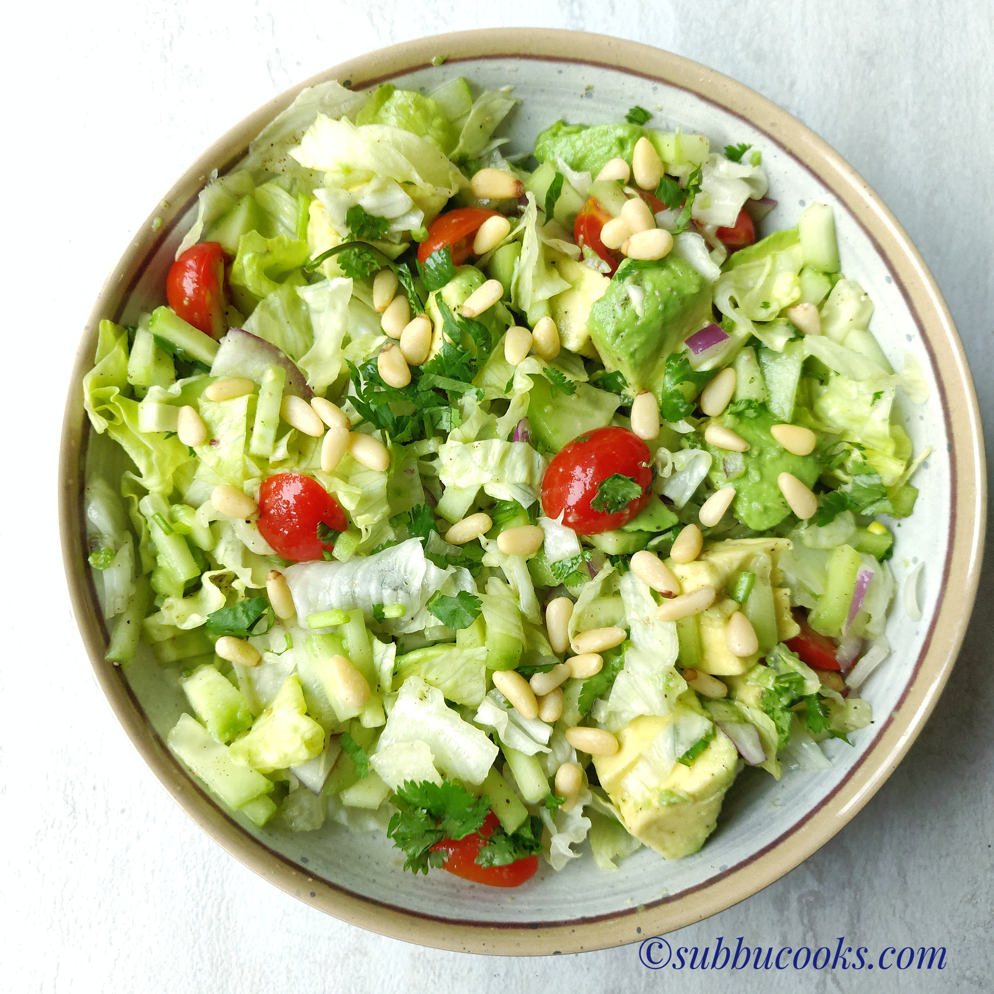 Keto Low Carb Salad Healthy Weightloss Salad Subbu Cooks
