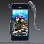 【進撃の巨人】 超硬質ブレード型iphoneカバー 調査兵団verが発売