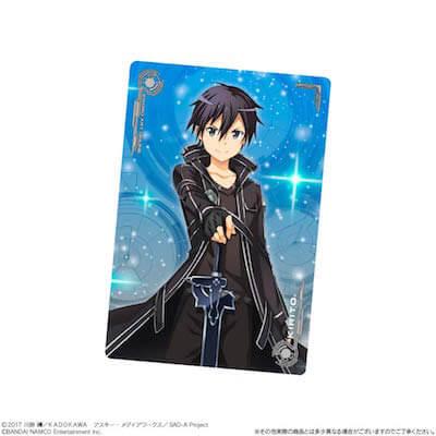 SAO ウエハース2収録のキリトのキャラクターカード