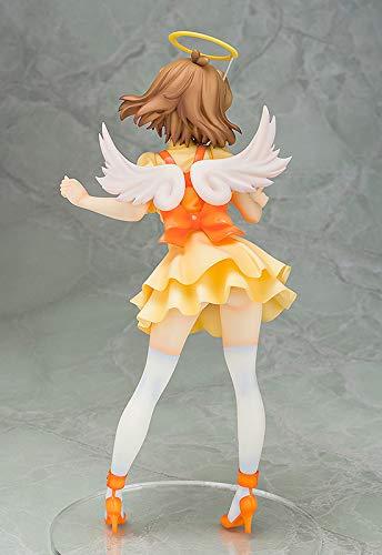 立花響 天使Ver.フィギュアの後ろからの画像