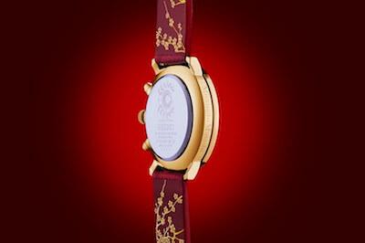 FGO×セイコーコラボ時計宮本武蔵モデルの側面
