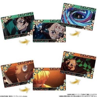 鬼滅の刃 名場面回顧カードチョコスナックの収録カード一覧4