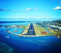 In about 15 hours time I'll be on my final approach at sunrise into this little airport in the tropical paradise of #Papeete in #Tahiti before setting sail on the #msPaulGauguin for 3 weeks with @JonnyRossMusic
