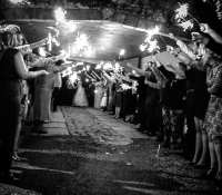 Romantic sparkler send off for our Bride and Groom tonight at the #cardwellwedding2017Lucy and Richard thank you so much on behalf of myself, @emmajohnsonmusic on sax and all the team at @Jonnyrossmusic. It's been an absolute pleasure to be involved in your amazing day !!!