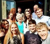Lovely day today for Grandma's 90th birthday. So gutted I had to leave early but weddings need DJs !!!