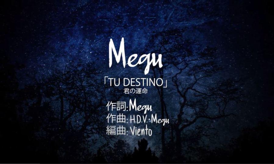 「Tu destino」De Megu Anita (Producción Musical)