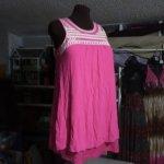 Flowy Pink Tunic Shirt