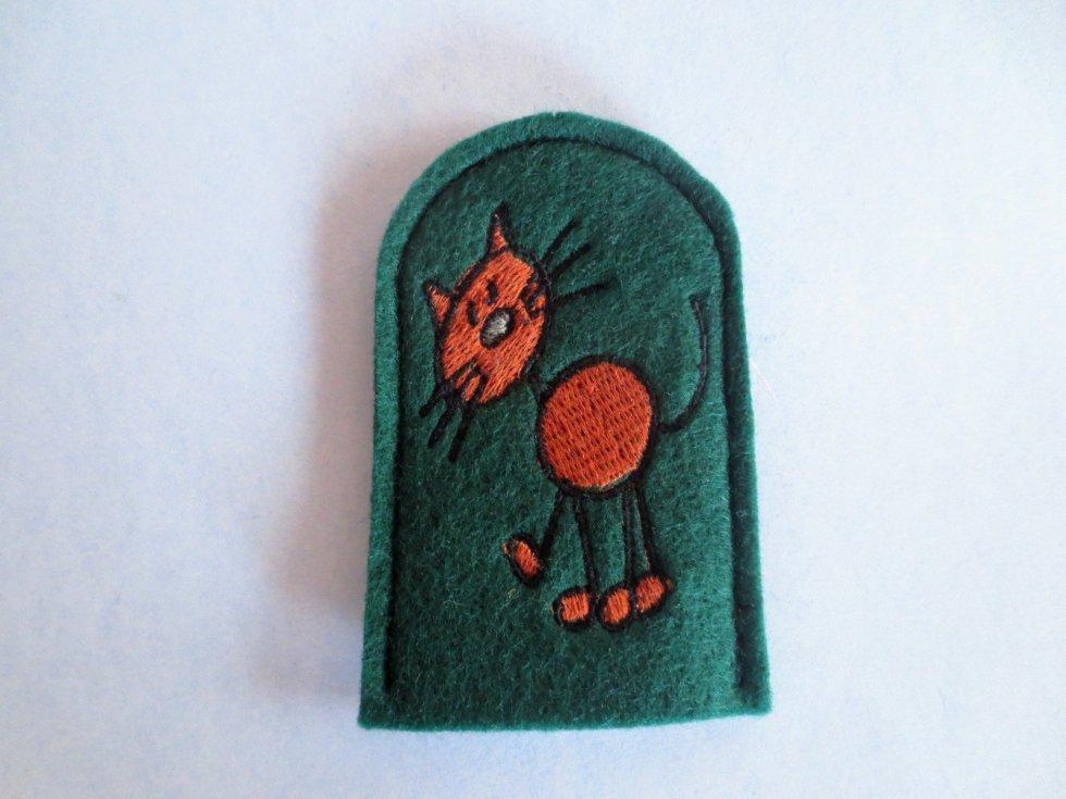 cat finger puppet