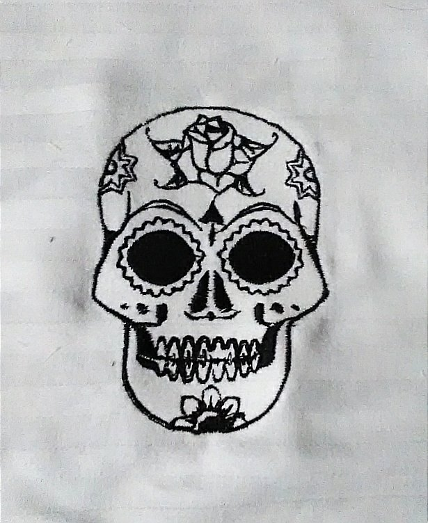 Single Color Sugar Skull