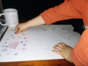Artwork activities for kids at home
