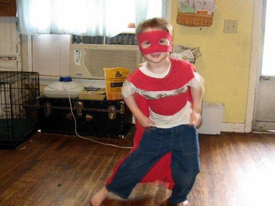 quick superhero costume