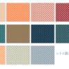 【無料素材】レトロ柄っぽいパターン配布