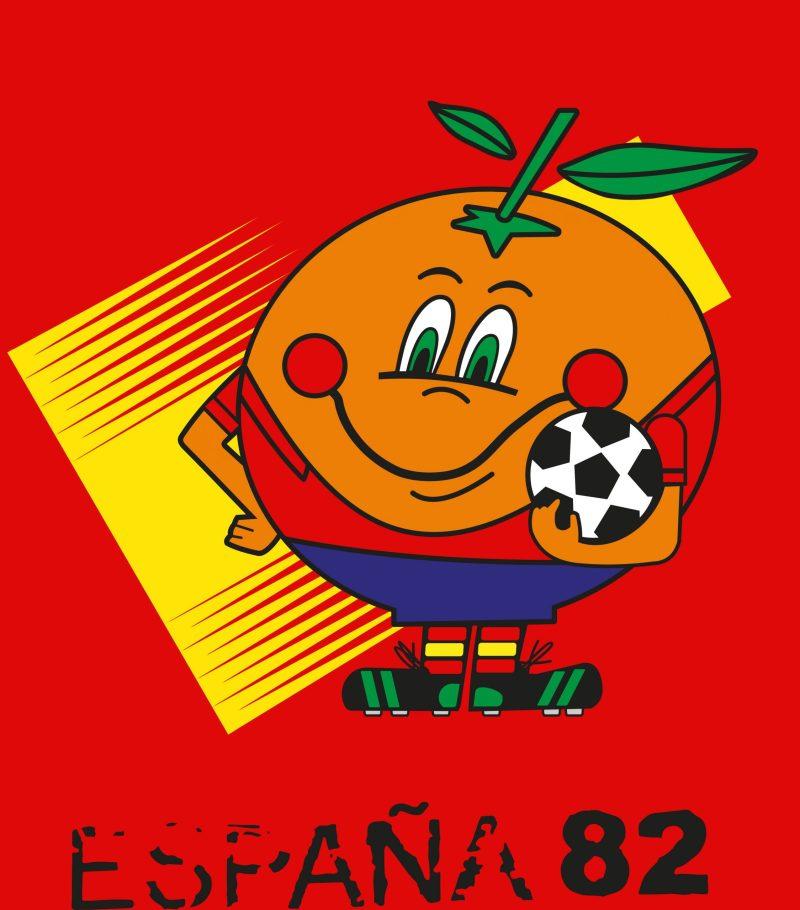 Camiseta de Naranjito, Munidal 82