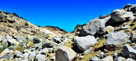 Granites and trail