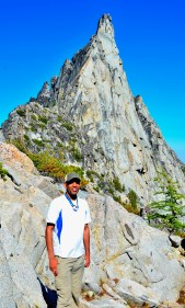 Me in front of Prusik Peak