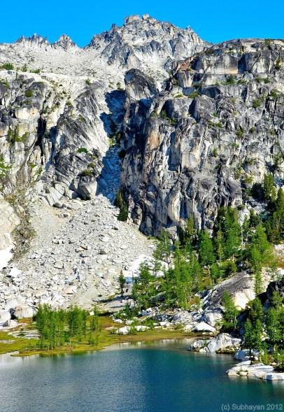 Crystal Lake and upper Enchantments