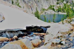 Stream down to Lake Viviane
