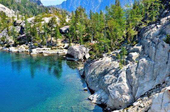 Another clear lake - Lake Viviane