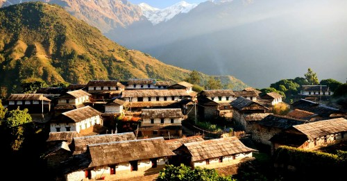 Village of Ghandruk