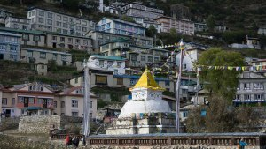 Small Stupa of Namche