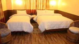 Twin Berroom of Hotel Barahi