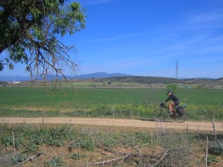 Sandra camino a Talavera