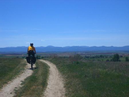 Jorge camino a Alcolea