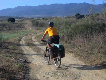 Jorge camino a Carrascalejo