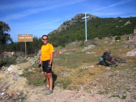 Jorge en el Alto de Arrebatacapas