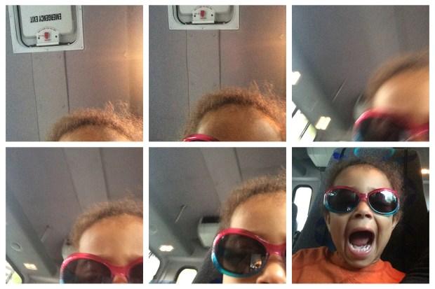 Jasmine loves selfies