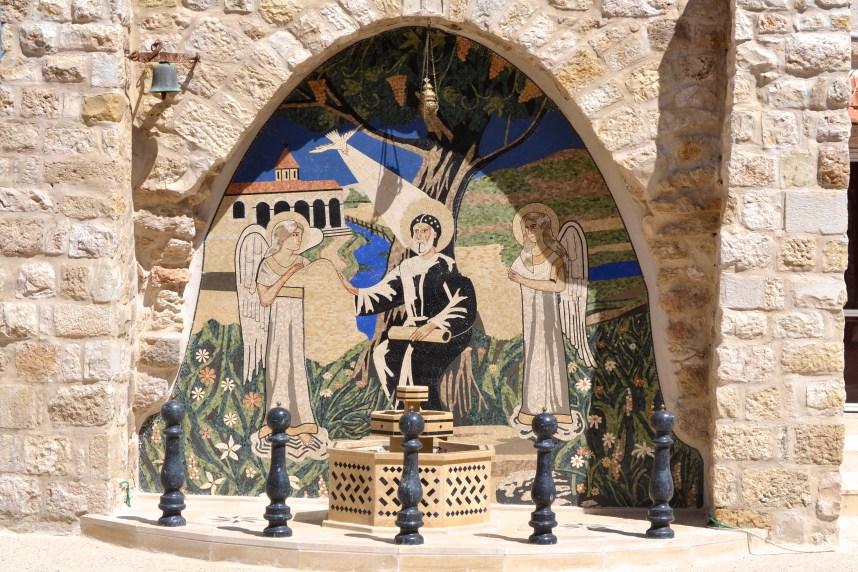 Mosaic at the Syrian Orthodox Church in Bethlehem