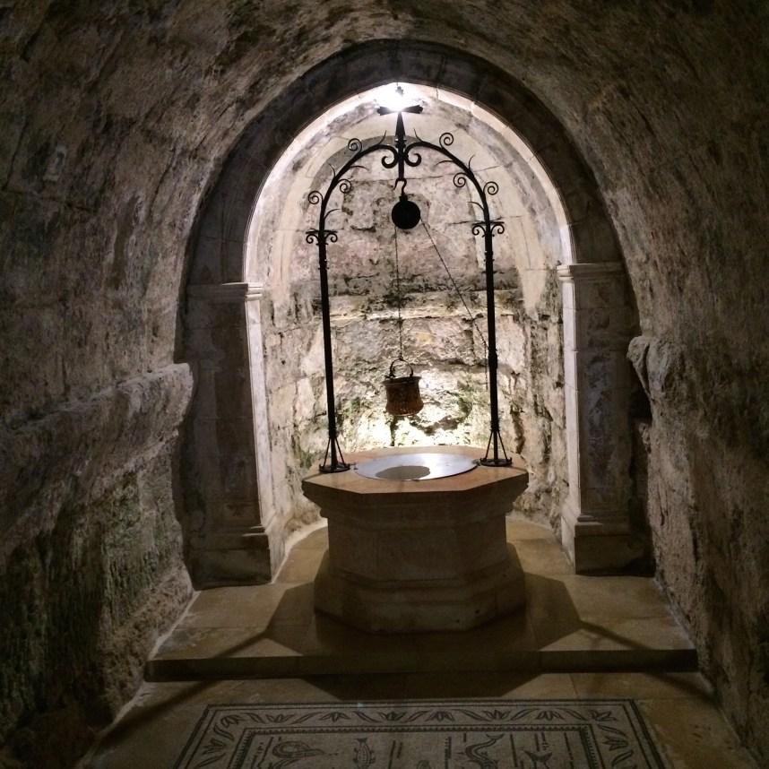 Holy well, Church of the Visitation, Ein Karem, Jerusalem