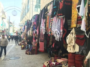 Travel with Kids - Bethlehem Souk