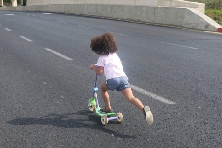 Jasmine in the Street on Yom Kippur in Jerusalem
