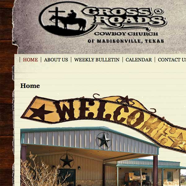 Crossroads Cowboy Church of Madisonville, Texas