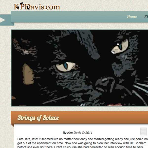 K. P. Davis - freelance writer and author