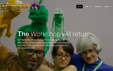 Beyond the Sock Puppetry Workshop