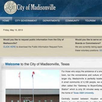 City of Madisonville, Texas