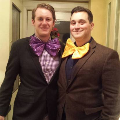 New Years' Bow Ties